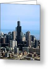 Willis Sears Tower 02 Chicago Greeting Card