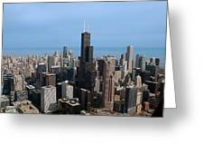 Willis Sears Tower 03 Chicago Greeting Card