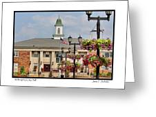 Willoughby City Hall Greeting Card