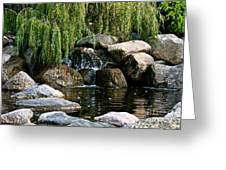 Willow Falls Greeting Card