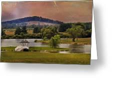 Willow Lake Series II  Greeting Card by Kathy Jennings