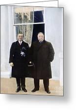Wilson & Taft: White House Greeting Card
