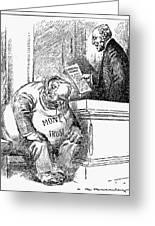 Wilson Cartoon, 1913 Greeting Card