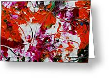 Wilted Flowers Greeting Card