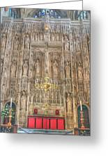 Winchester Cathedral High Altar Greeting Card