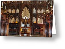 Winchester Cathedral Quire Greeting Card