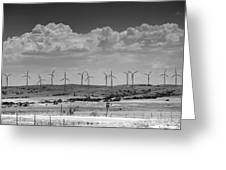Wind Farm II Greeting Card