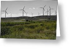 Wind Farm Iv Greeting Card
