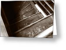 Winding Staircase Greeting Card