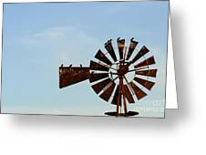 Windmill-3772 Greeting Card