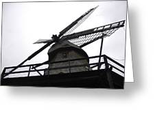 Windmill In The Sky Greeting Card