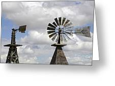 Windmills 5 Greeting Card