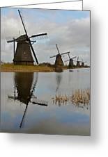 Windmills Greeting Card