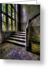Window And Stairs Greeting Card by Nathan Wright