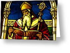 Window Of Saint Agustine Greeting Card