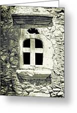 Window Of Stone Greeting Card