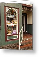 Window Shop Detail Greeting Card