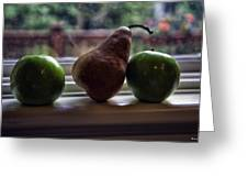 Windowsill 3 Greeting Card