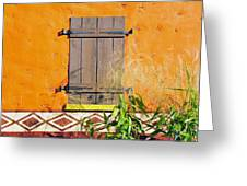 Window To Africa Greeting Card
