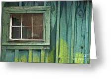 Window To The Past - D007898 Greeting Card by Daniel Dempster