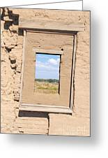 Window To The Past Greeting Card by Sean McGuire