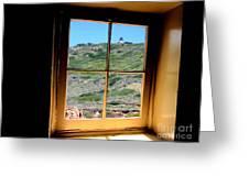Window View 3 Greeting Card