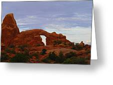 Windows Arch Greeting Card