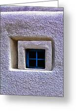 Windows Of Taos Greeting Card