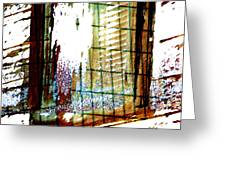 Windows Old And New 2 Greeting Card