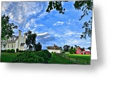 Windsor Castle Smithfield Va Greeting Card