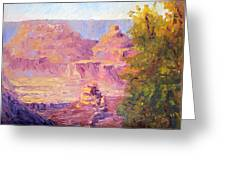 Windy Day In The Canyon Greeting Card