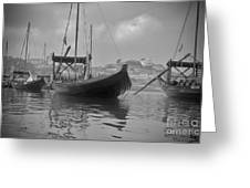 Wine Boats On Douro Greeting Card