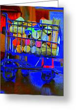 Wine Buggy Greeting Card by James Eller