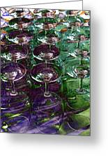 Wine Goblets Greeting Card