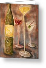 Wine Or Martini? Greeting Card