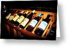 Wine Rack Greeting Card