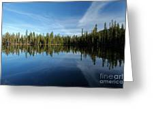 Wings In The Lake Greeting Card