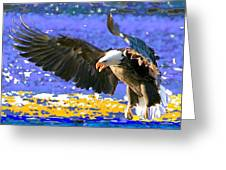 Wings On High Greeting Card
