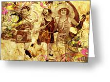 Winsome Women Greeting Card