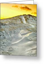 Winter Cape Cod Sunset Greeting Card
