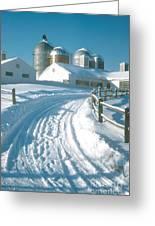 Winter, Ct Greeting Card