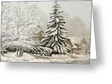 Winter Fairytale Greeting Card