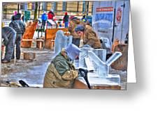 Winter Fest Artist Greeting Card