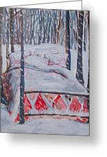 Winter Hybernation Greeting Card by Tilly Strauss