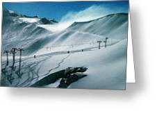 Winter In Austria Greeting Card