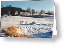Winter In Granville Tennessee Greeting Card