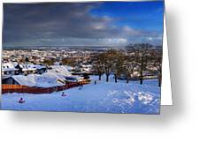Winter In Inverness Greeting Card