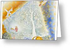Winter In Paradise Greeting Card