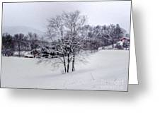 Winter Landscape 6 Greeting Card