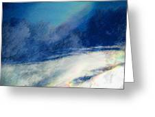 Winter Pastel Greeting Card
